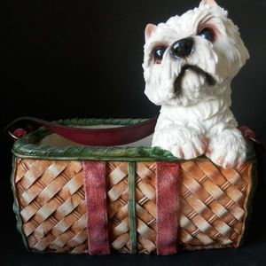 Other - Puppy in a Purse Planter